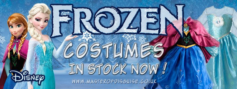 frozen banner in stock